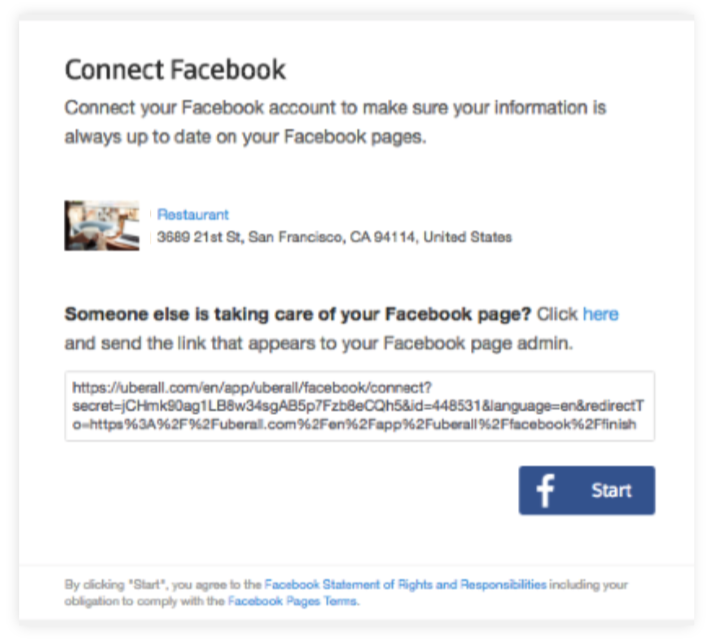 Connect your Facebook Business account with Local Listing – SO Connect
